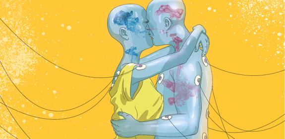 אהבה במבחנה / מאייר: ליאב צברי